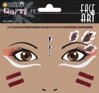 "Herma Face Art No. 15316 öntapadó arc matrica ""Native American"" motívumokkal."