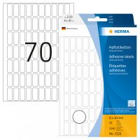 Herma 2320 kézzel írható öntapadó jelölő címke