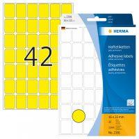 Herma 2381 kézzel írható öntapadó jelölő címke