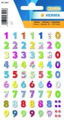 Herma 3094 öntapadó számmatrica