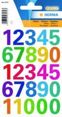 Herma 3279 öntapadó számmatrica