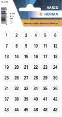 Herma 4124 öntapadó számmatrica
