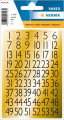 Herma 4146 öntapadó számmatrica