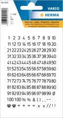 Herma 4155 öntapadó számmatrica