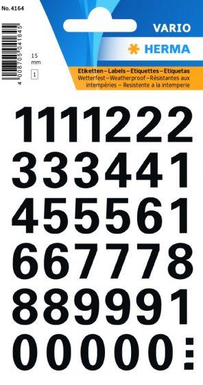 Herma 4164 öntapadó számmatrica