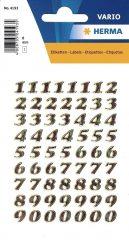 Herma 4193 öntapadó számmatrica
