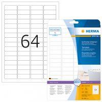 Herma 4201 nyomtatható öntapadós visszaszedhető etikett címke