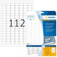 Herma 4211 nyomtatható öntapadós visszaszedhető etikett címke