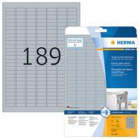 Herma 4220 öntapadós ezüst ipari címke