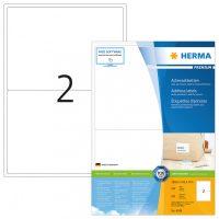 Herma 4249 fehér színű öntapadós etikett címke