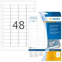 Herma 4346 nyomtatható öntapadós visszaszedhető etikett címke