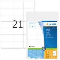 Herma 4415 fehér színű öntapadós etikett címke