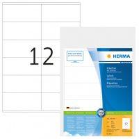 Herma 4417 fehér színű öntapadós etikett címke
