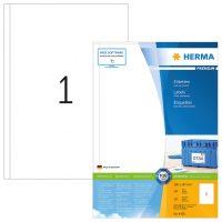 Herma 4458 fehér színű öntapadós etikett címke