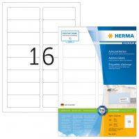 Herma 4479 fehér színű öntapadós etikett címke
