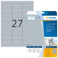 Herma 4592 öntapadós ezüst ipari címke