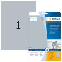 Herma 4593 öntapadós ezüst ipari címke