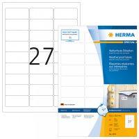 Herma 4594 öntapadós fehér időjárásálló címke tintasugaras nyomtatóhoz