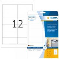 Herma 4595 öntapadós fehér időjárásálló címke tintasugaras nyomtatóhoz
