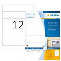 Herma 4597 öntapadós fehér időjárásálló címke tintasugaras nyomtatóhoz