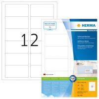 Herma 4666 fehér színű öntapadós etikett címke