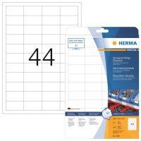 Herma 4690 öntapadós fehér időjárásálló címke