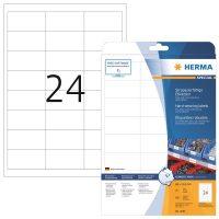 Herma 4691 öntapadós fehér időjárásálló címke