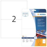 Herma 4693 öntapadós fehér időjárásálló címke