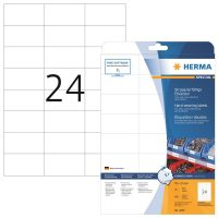Herma 4695 öntapadós fehér időjárásálló címke