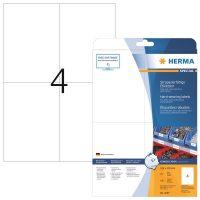 Herma 4697 öntapadós fehér időjárásálló címke