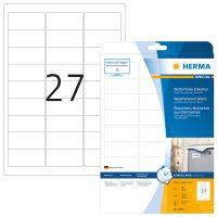 Herma 4864 öntapadós fehér időjárásálló címke tintasugaras nyomtatóhoz