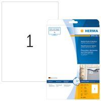 Herma 4866 öntapadós fehér időjárásálló címke tintasugaras nyomtatóhoz
