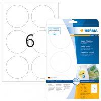 Herma 5068 nyomtatható kör alakú öntapadós visszaszedhető etikett címke