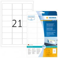 Herma 5074 nyomtatható öntapadós visszaszedhető etikett címke