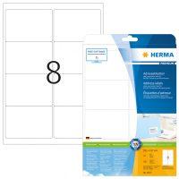 Herma 5077 fehér színű öntapadós etikett címke