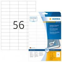 Herma 5080 nyomtatható öntapadós visszaszedhető etikett címke