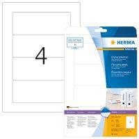 Herma 5121 iratrendező címke