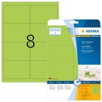 Herma 5147 neon zöld színű öntapadó etikett címke