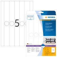 Herma 5165 függőmappa címke