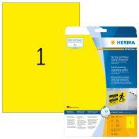 Herma 8033 öntapadós sárga időjárásálló címke