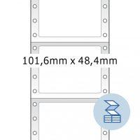 Herma 8213 nyomtatható öntapadó leporellós címke