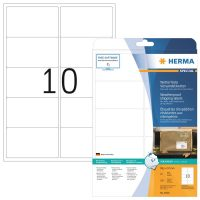 Herma 8330 öntapadós fehér időjárásálló címke