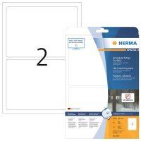 Herma 8333 öntapadós fehér időjárásálló címke