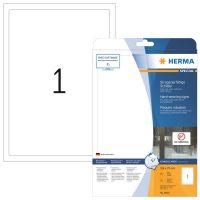 Herma 8334 öntapadós fehér időjárásálló címke