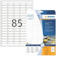Herma 8337 öntapadós fehér időjárásálló címke