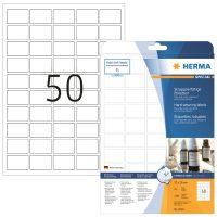 Herma 8338 öntapadós fehér időjárásálló címke