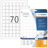 Herma 8339 öntapadós fehér időjárásálló címke
