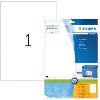 Herma 8637 nyomtatható öntapadós etikett címke