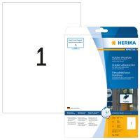 Herma 9500 öntapadós fehér ultra ellenálló címke