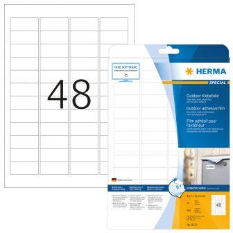 Herma 9531 öntapadós fehér ultra ellenálló címke